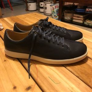 Cole Haan lace up sneakers size 11.5 US men Navy